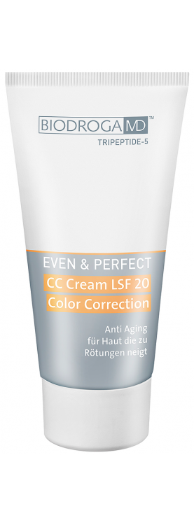 CC Cream SPF 20 Color Color Correction-for a skin tending to redness